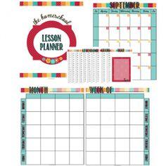 Free Homeschool Lesson Planner