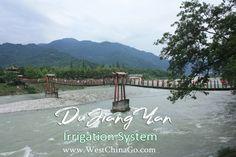 Dujiangyan Irrigation System Tours ChengDu WestChinaGo Travel Service www.WestChinaGo.com Tel:+86-135-4089-3980 info@WestChinaGo.com Chengdu, Irrigation, Tours, Sidewalk, Travel, Walkways, Viajes, Traveling, Pavement