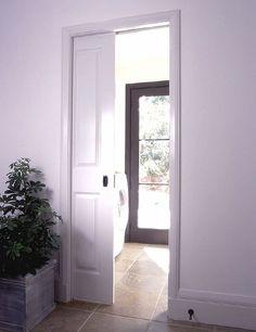 Single Pocket Door, Johnson Hardware Used: 1500 Pocket Door Frame