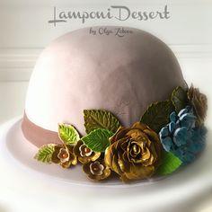 Торт шляпка #тортшляпка #тортшляпа #hatcake