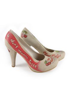 Dogo Shoes, Plateau Pumps Forever, mehrfarbig Schuhe Damen