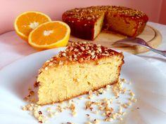 Torta all'Arancia e Miele senza glutine