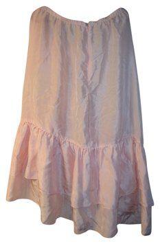 Lux Silk Flowy Skirt $59