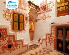 Cruise Libya   Ghadames Pearl of the Desert, Ghadames is an attractive oasis town on the edge of the Sahara near the border with Algeria.