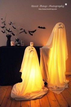 Geniale Halloween Deko. Noch mehr Halloweenideen gibt es auf www.spaaz.de