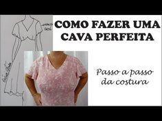 COMO CORRIGIR PAPA NA CAVA - COSTURA COM CÉLIA ÁVILA - YouTube