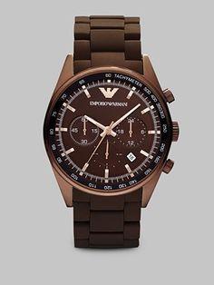 Emporio Armani - man's new watch