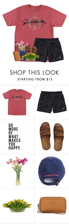 """""""I want that smile & that midnight laugh"""" by livnewell ❤ liked on Polyvore featuring O'Neill, Patagonia, Native State, NDI, The French Bee, Tory Burch and Kendra Scott"""