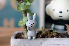 Image of Fluffy Rabbit Set (3 Rabbits)