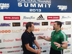 Inside #FunctionalTrainingSummit - Martin Rooney im Interview