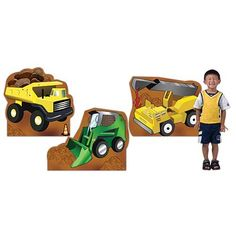 22 in. To 27 in. Construction Zone Truck Standees