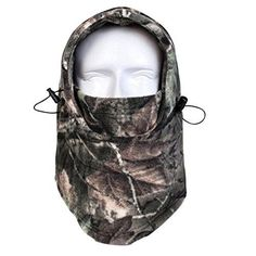 Thick polyester-fleece material, soft, super warm and windproof Multi-functional face mask design, 6 different ways to keep your face, head, and your neck warm in different occasion as you like One size fits all adjustable design, left clip adjust the top side, right clip adjust the eye bottom side. Easily adjust according to your face size, feeling comfortable