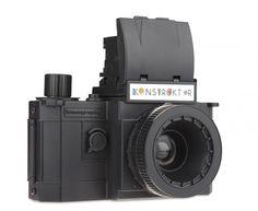 Lomography Konstruktor Camera - a $35 SLR camera you can build by hand to enjoy the nostalgia of film.