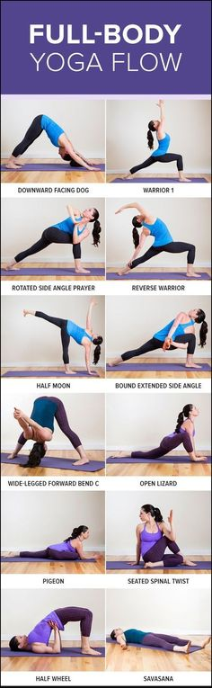 This yoga flow works your muscles while lengthening them to help you get long and lean.