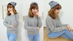 Chunky Cable Knit Sweater#autumn#outfit#Japan http://www.megapui.com/index.php?id_product=381&controller=product&id_lang=1