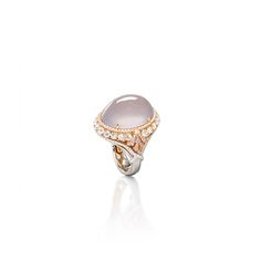 ICY PINK JADEITE, PINK DIAMOND AND DIAMOND RING, ALESSIO BOSCHI