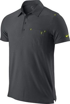 Nike Federer RF Smash Clay Tennis Polo Shirt French Open 2012 New Size S  167b1df3140