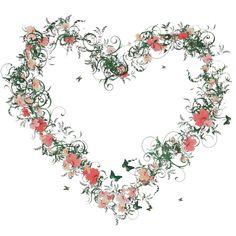 Coração, Flores, Flor, Colorido, Planta, Deco, Natureza