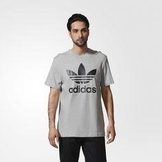 adidas Trefoil Tee - Black   adidas UK