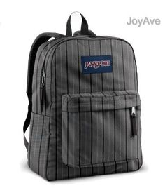 JANSPORT SUPERBREAK BACKPACK SCHOOL BAG - New Storm Grey Bogart - 9KS by JanSport. Save 40 Off!. $26.90. 100% Authentic guaranteed.  New with tags   Head out the door with everything you need in the JanSport® Superbreak Backpack. It features straight-cut, padded shoulder straps and a padded back panel for added comfort when you are carrying your belongings. The one large main compartment makes packing and unpacking easy and simple.     Product Details  * Straight-cut, padde...