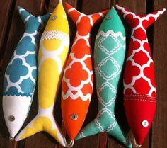 Handmade traditional Portuguese sardines in fun by OlaFishyWishy