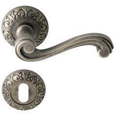 Door handle, Antique iron, interior - Model RETRO? - Liberty Design Door Handles - VillaHus.co.uk