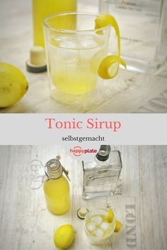 Selbstgemachter Tonic Sirup
