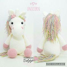işte buda benim unicornum pastel renginin güzelliğine diyecek yok • • • Und hier kommt mein Einhorn #amigurumi#amigurumitoy#unicorn#einhorn#barbie#örgü#häkeln#crochet#knitting#pink#mommytobe#tbt#ootd#baby#handmade#selfmade#elemegi#göznuru#örgüoyuncak#healthytoy#babyshower#itsagirl#girl#toy#spielzeug#oyuncak Crochet Animal Patterns, Stuffed Animal Patterns, Crochet Patterns Amigurumi, Amigurumi Doll, Crochet Animals, Crochet Horse, Crochet Unicorn, Crochet Baby, Crochet Rabbit