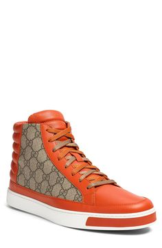 Gucci 'Common' High-Top Sneaker.