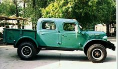 1946 Dodge Power Wagon Crew Cab- how good would this look in my driveway?!