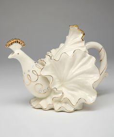 Look what I found on #zulily! Peacock Teapot by Cosmos #zulilyfinds