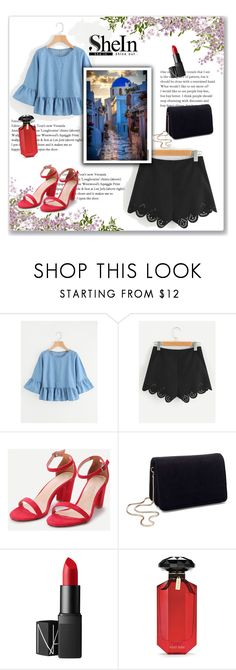 """SheIn"" by emina-la ❤ liked on Polyvore featuring Miss Selfridge, NARS Cosmetics and Victoria's Secret"