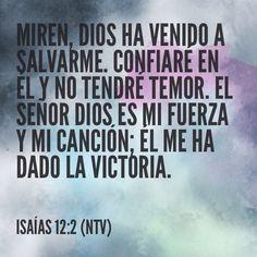 Isaías 12:2 (NTV)