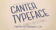 Free Font Canter