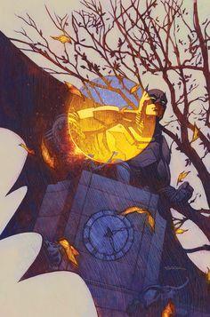 New Futures End - Batman cover by Ryan Sook Comic Book Artists, Comic Books Art, Comic Art, I Am Batman, Batman Art, Superman, Georges Wolinski, Futures End, Cinema