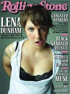 Lena Was A Rolling Stone: Dunham Opens Up About Her Mental Health