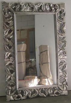 Stunning barok spiegel x cmhouten lijst nieuw bij ttm for Goedkope barok spiegel