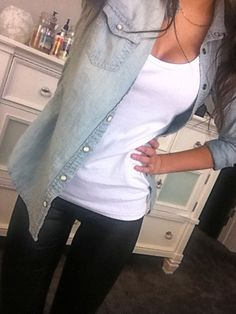Casual for school. Cute with sneakers or boots