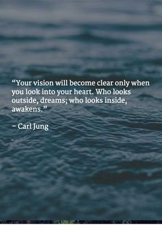Elin: If Only I could get there!Carl Jung quote