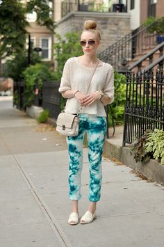 The lovely @eatsleepwear in our Edie Bone loafers. Love! #spottedin8020