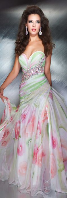 Mac Duggal couture 2013 ~ wish Easter dresses were as formal for big girls like they were so fancy for me when I was a little girl<3