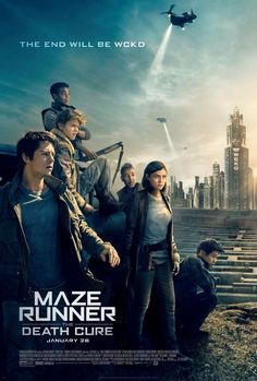 The movie The Maze Runner 3 The Death Cure: trailer, clips, photos, soundtrack, news and much more! Maze Runner 3, Maze Runner Death Cure, Maze Runner Trilogy, Maze Runner Thomas, Maze Runner Movie, Maze Runner Series, 2018 Movies, New Movies, Good Movies