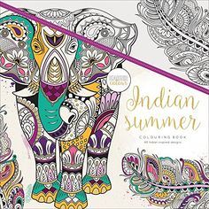 Kaisercraft Coloring Book Indian Summer Amazon