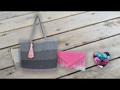 YouTube Lidia Crochet Tricot, Louis Vuitton Damier, Straw Bag, Make It Yourself, Tote Bag, Knitting, Pattern, Bags, Baskets