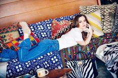 Leighton Meester Jimmy Choo campaign pictures 2015 (Glamour.com UK)