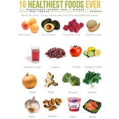 More healthy food.