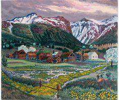 Marsh Marigold, Lakeside Cabin, Clark Art, Digital Museum, Traditional Landscape, Old Farm, Mountain Landscape, Metropolitan Museum, The Guardian