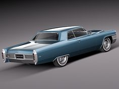 1965 cadillac images   Cadillac DeVille 1965 coupe 3D Model