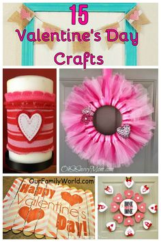 Check out these 15 Easy Valentine's Day Crafts that are perfect for decorating your home! Find a great mix of crafts for adults and kids! valentines day crafts for adults 15 Easy Valentine's Day Crafts for Families My Funny Valentine, Family Valentines Day, Valentine Crafts For Kids, Valentine Decorations, Valentines Diy, Holiday Crafts, Valentine's Day Crafts For Kids, Crafts For Seniors, Adult Crafts