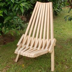 Folding stick chair ($5 value plans)